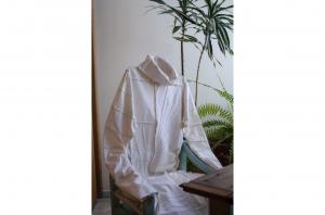 Retazos  de  algodón 100% y costura con máquina de coser industrial, 2020